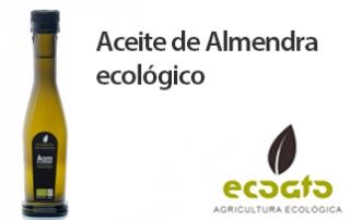Aceite de almendra ecológico