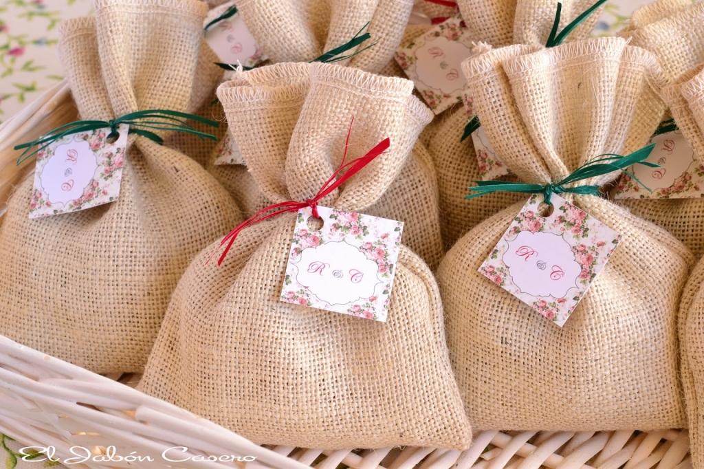 detalles rusticos para bodas el jabon casero